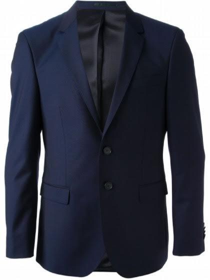 0c8bcd23795 Terno Giorgio Armani azul